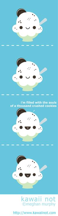 Kawaii Not - Cookies And Cream
