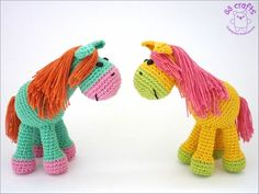 Horse Amigurimi-Free Russian Pattern