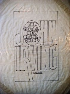 Herb Lubalin Archives at Cooper Union: Jacket Design for John Irving's The Hotel New Hampshire