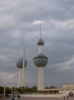 Water towers, Kuwait