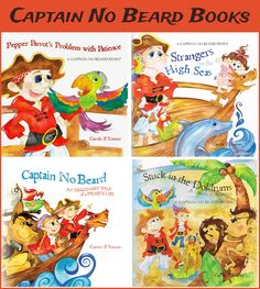 Back To School Giveaway: Set of Captain No Beard Books #books #kids #pirates