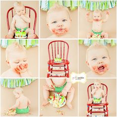 first birthday shoot, chair, 1st birthday foods, smash cake photo ideas, first birthday photos