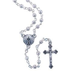"""Baptism Rosary, $16.95.    Customer review: """"Better than I expected and by far the best little Baptism rosary I have found anywhere."""""""