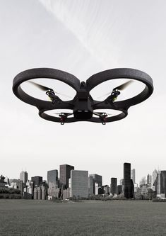 The Parrot AR remote control drone. Use your tablet as a remote!