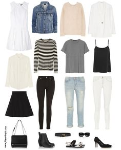 How to Pack Light - also good basics to have in a wardrobe // FLIP AND STYLE || Sydney Fashion Blog