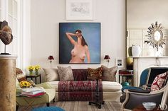 Trey and Jenny Laird's Revamped Manhattan Brownstone