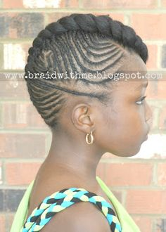 Braid with Me: Intricate Cornrow Updo on Natural Hair