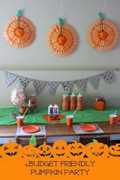 Our Pinteresting Family: Budget Friendly Pumpkin Party & Giveaway