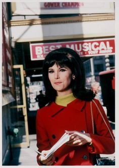 """Watching """"That Girl"""" with Marlo Thomas after school."""