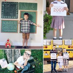15 Creative Ideas For Back-To-School Pictures
