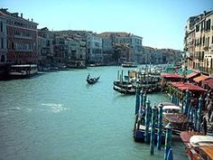 Italy's Venice Canal in Naples