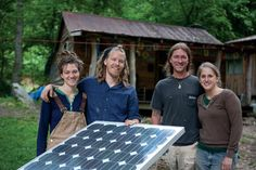 Green living: Off the grid families pioneer sustainable energy lifestyles