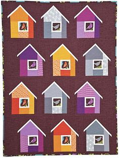 Neighborhood Quilt Elizabeth Hartman