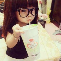 cutest babies, future babies, glass, children, daughters, future kids, lunch, asian babies, mini