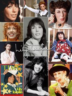 """Mary Jean """"Lily"""" Tomlin (born September 1, 1939) is an American actress, comedian, writer, & producer. She has been a major force in American comedy since the late 1960s when she began as a stand up comedian & became a featured performer on TV's Laugh-in. Her career has spanned television, comedy recordings, Broadway, & motion pictures, enjoying acclaimed success in each medium. She has won many awards including Tony Awards, Emmy Awards, a Grammy Award, & has been nominated for an Academy Award."""