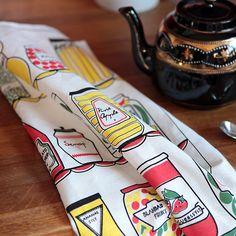 Tea Towel - Larder - Vintage Scandinavian design » Pretty Dandy