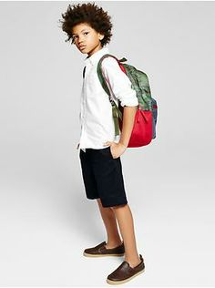 Back to school cool.