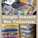 Simplifying Sensory Play