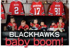 So many Blackhawks babies!