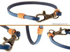 DIY Jewelry DIY Leather Lanyard Bracelet