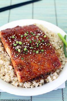 Chinese Sesame Salmon