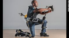 Navy Tech — The FORTIS exoskeleton (FREAKING EXOSKELETON) makes physically demanding jobs a lot easier, by rendering heavy tools weightless.