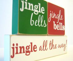 .diy jingle bell blocks