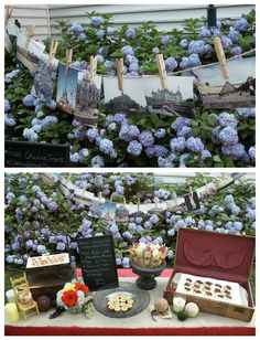 cute and inexpensive idea for a french inspired party