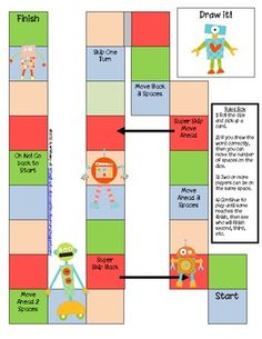 Here's a game for students to review Common Core Math terms. Includes 45 vocabulary cards and game board.