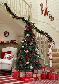 holiday, christmas decorations, christma tree, christmas stairs, white christmas, christmas decorating ideas, red christmas, christmas trees, christmas staircase