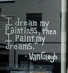 Paint my dreams