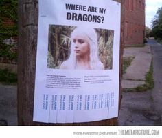 Have you seen my dragons?