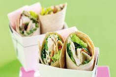 Caesar salad wraps main image
