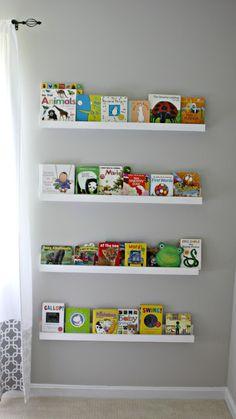 Project Nursery - Nursery Library Wall