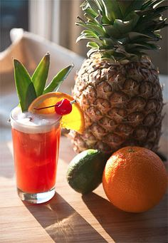 The Singapore Sling was created at the Raffles Hotel in Singapore in the early 1900's.