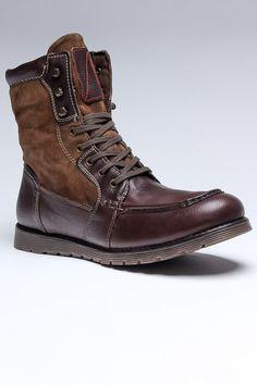 Boots - Chocolate Titan men's footwear