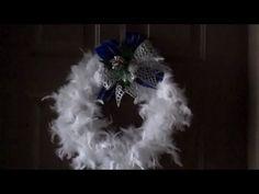 Como Hacer una Corona de Navidad
