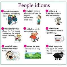 people idioms