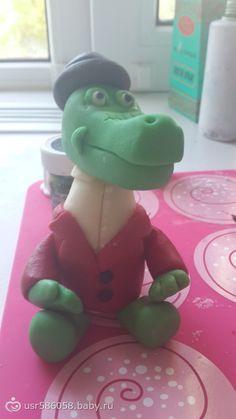 Крокодил гена мастика мастер-класс