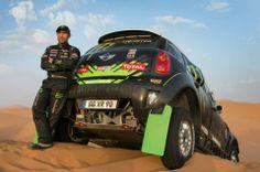 Defending champion Stéphane Peterhansel preps for a MINI hat-trick at Dakar 2014.