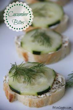 Cucumber bites feature