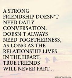 True friendship!