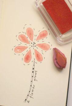 carved rubber stamp tutorial-Jenny Doh