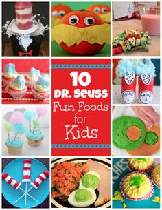 10 Dr. Seuss-inspired Fun Foods for Kids