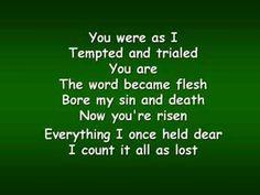 Lead Me to the Cross (Worship Video w/ Lyrics)