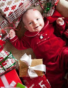 Christmas Baby Photo Idea