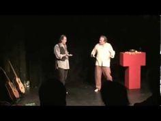 ▶ Improvizované představení Malá Vizita - 25. 2. 2011 - Jaroslav Dušek a Pjér la Šé'z - YouTube