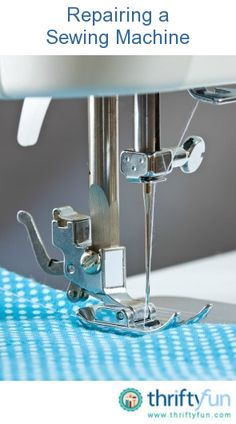 This is a guide about repairing a sewing machine. Unfortunately sometimes your sewing machine requires troubleshooting and repair for a variety of problems, such as jamming.