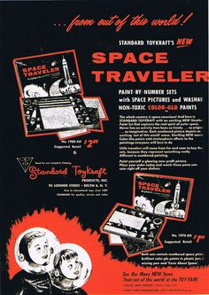 1958 Space Traveler ad
