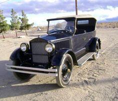 1924 Stanley Steamer Model 750 Five Passanger Touring Car.....